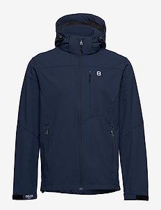 Padore Softshell Jac - softshell jackets - indigo