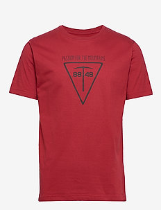Climber Tee - sports tops - aroma red