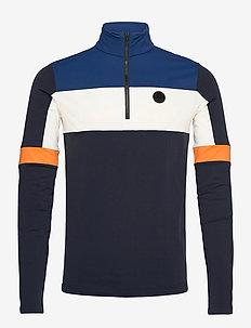 Gavio 1/2 Zip - basic sweatshirts - navy