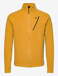 Zero Micro Fleece - basic sweatshirts - mustard
