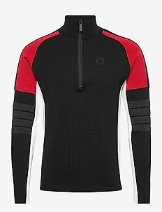 Trysil Sweat - half zip - black
