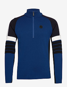 Trysil Sweat - half zip jumpers - peony