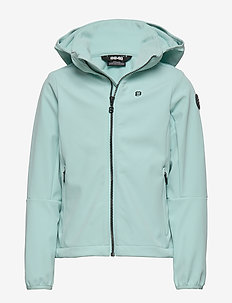 Aasa JR Softshell - softshell jacket - mint