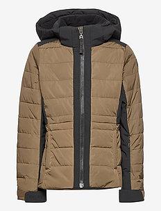 Huston JR Jacket - ski jassen - beech