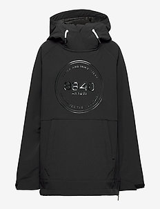 Zack JR Anorak - softshell jacket - black