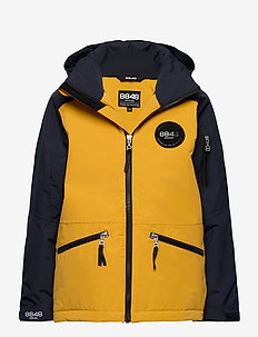 Ashton JR Jacket - vinterjakke - mustard