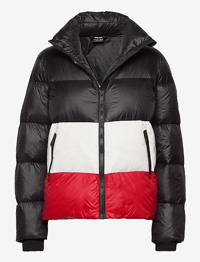 Mila W Jacket - træningsjakker - black