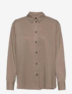 DAILY SHIRT - jeansowe koszule - nougat