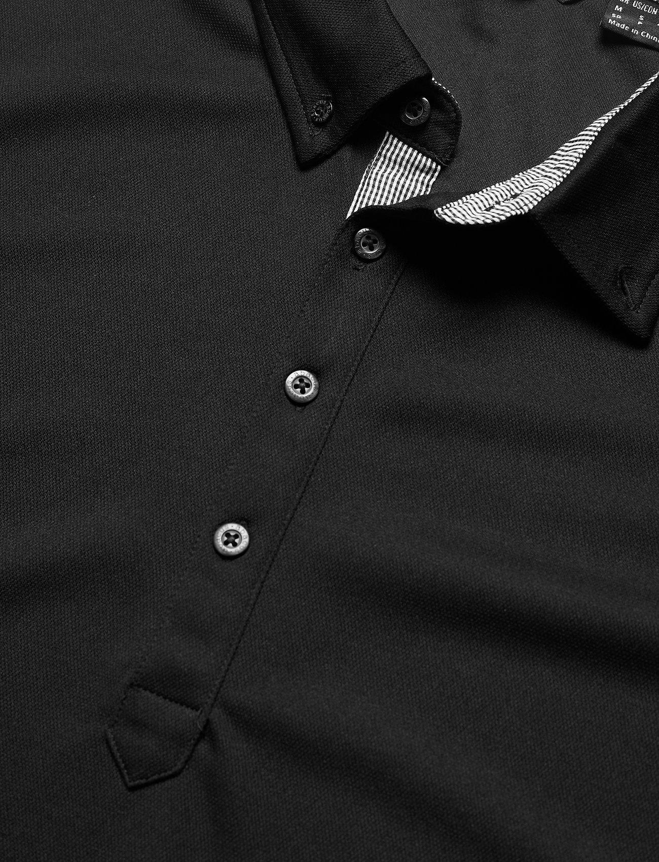Abacus Mens Oliver polo - Poloskjorter BLACK - Menn Klær