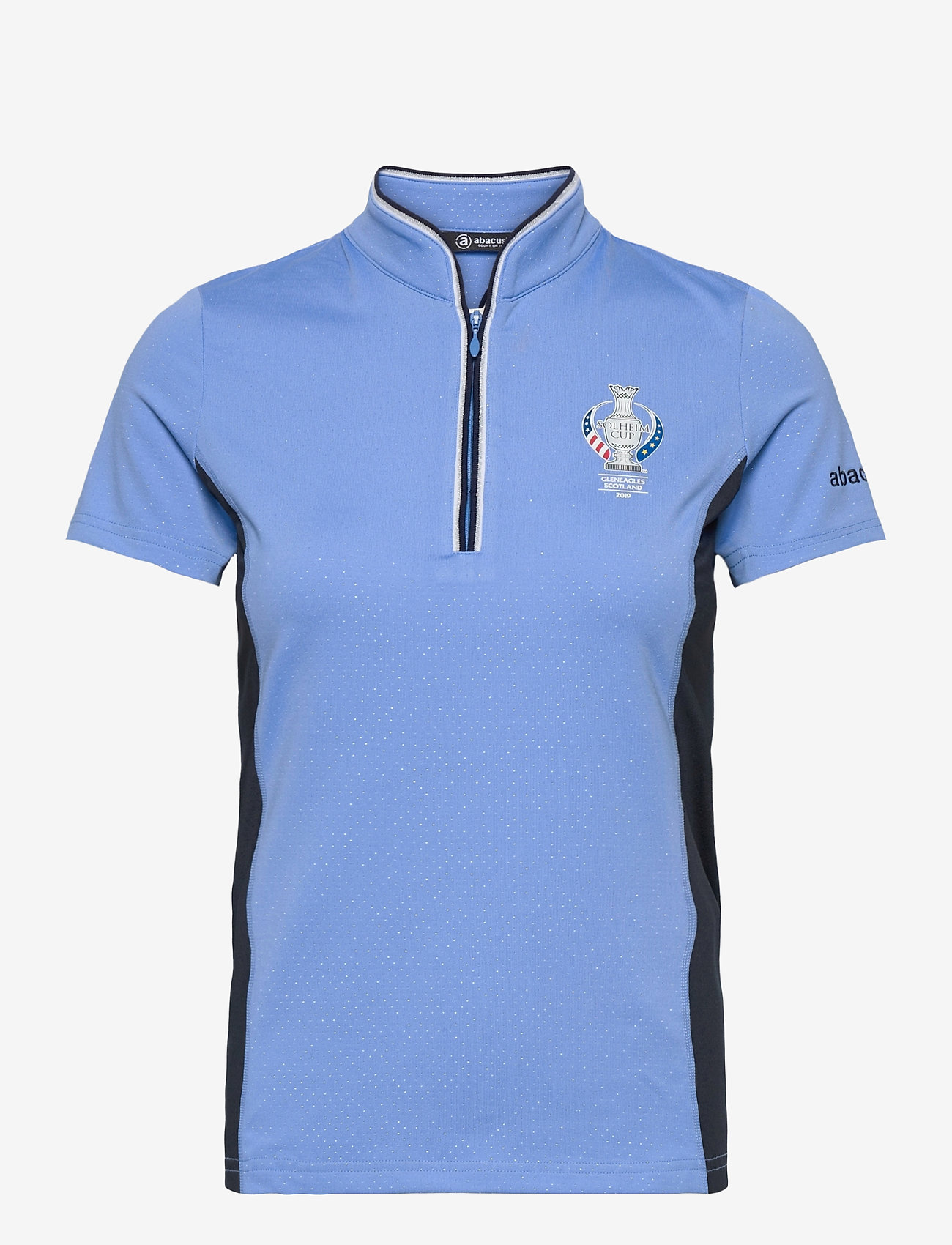 Abacus - Lds dimple polo - polo's - cambridge blue - 0
