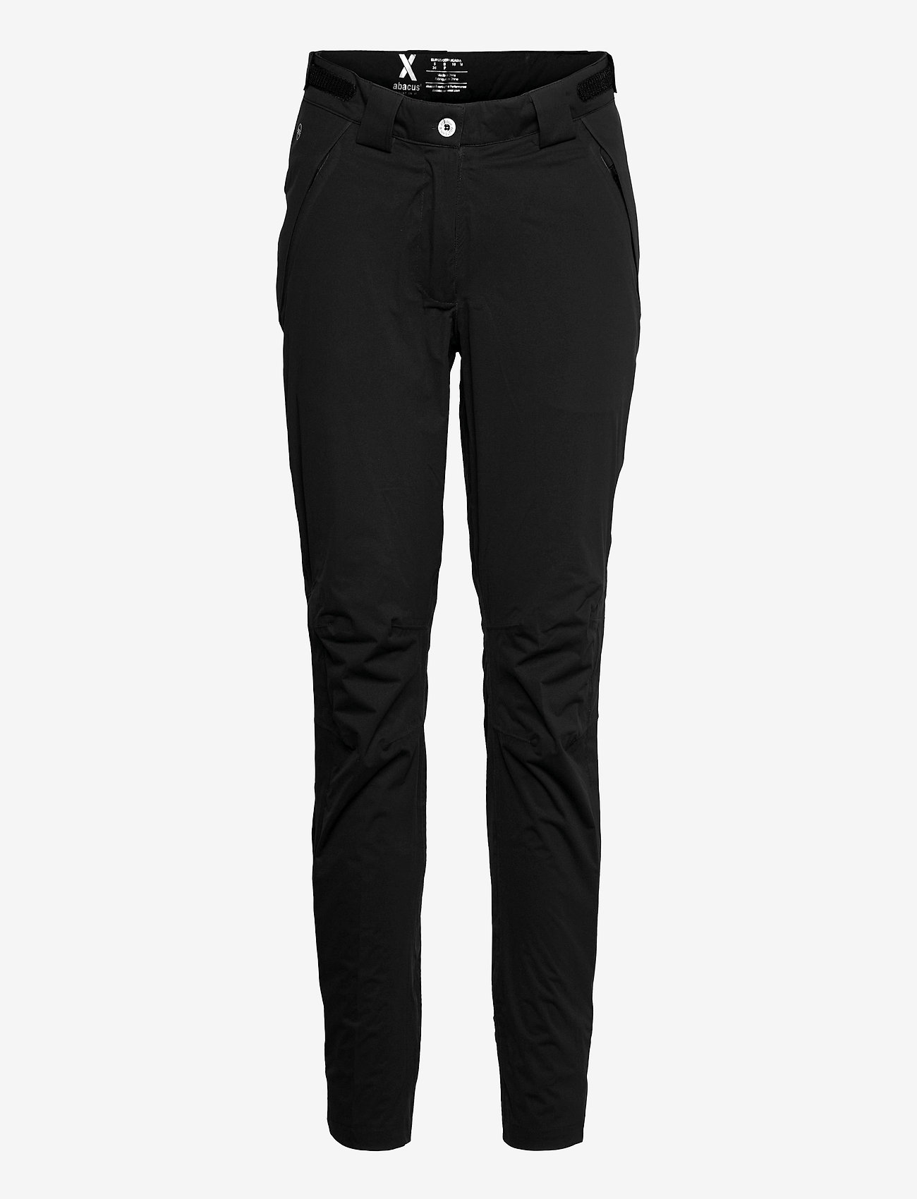 Abacus - Lds Pitch 37.5 raintrousers - golfbroeken - black - 1