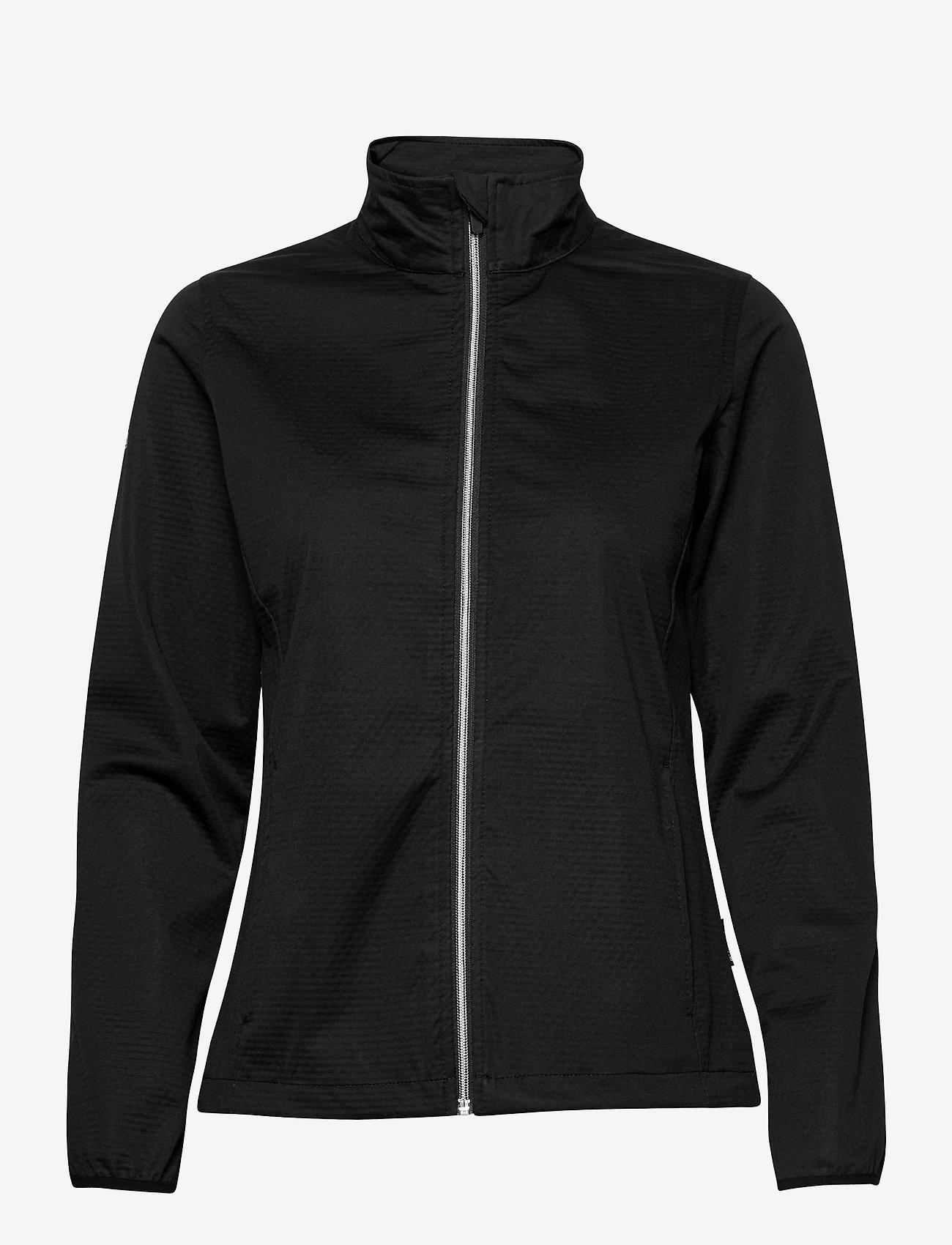 Abacus - Lds Lytham softshell jacket - golf jassen - black - 0