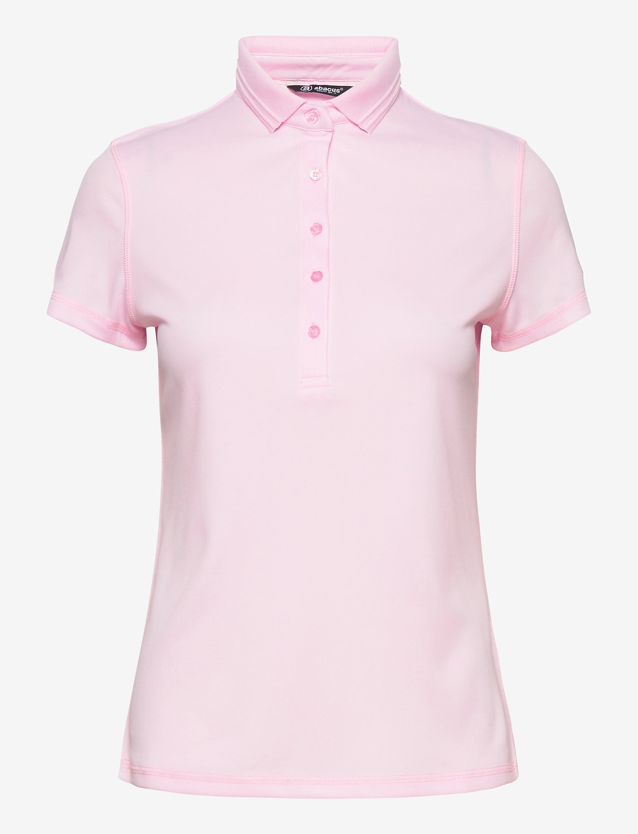 Abacus - Lds Clark polo - polo's - lt.pink - 0
