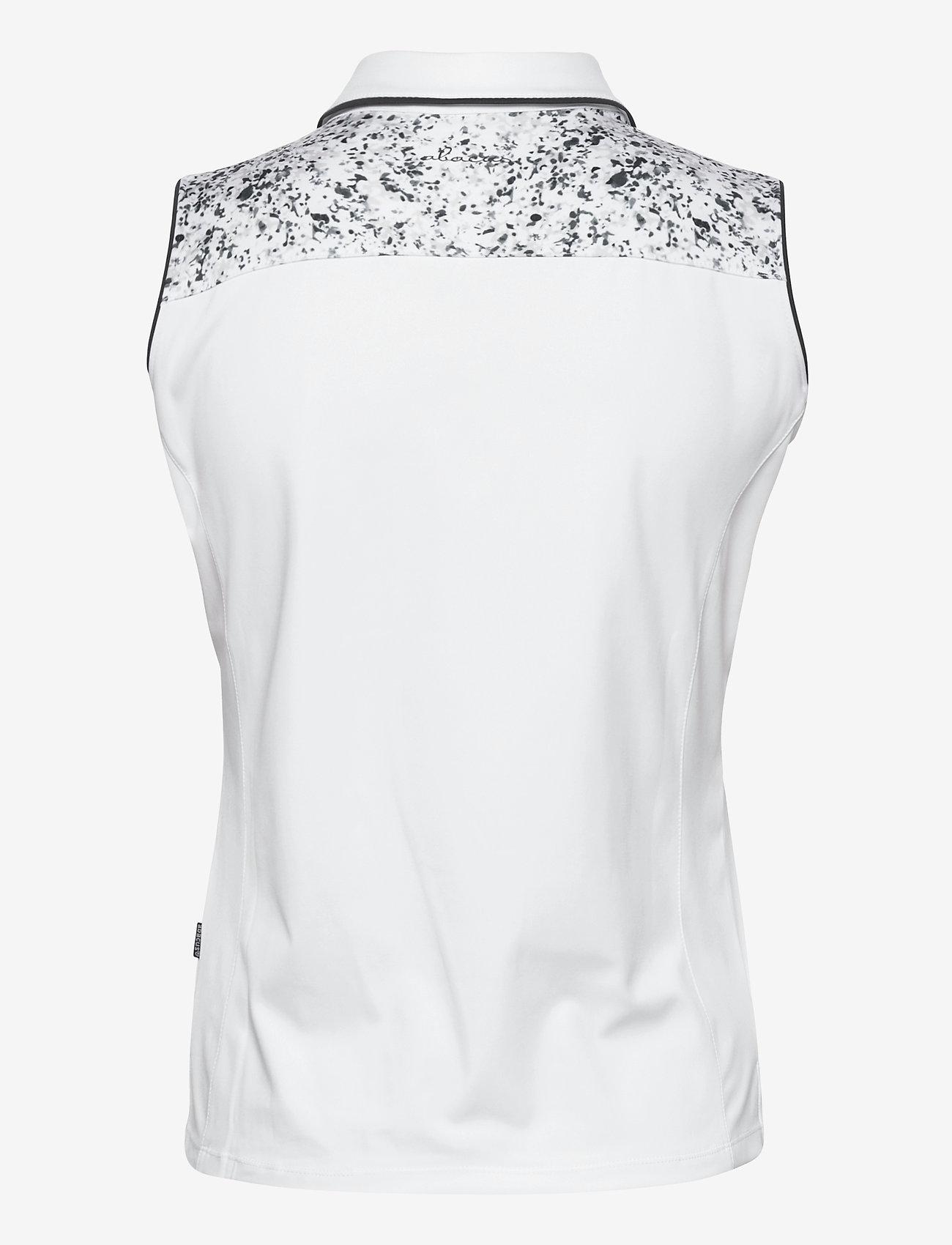 Abacus - Lds Emy sleeveless - topjes - white - 1
