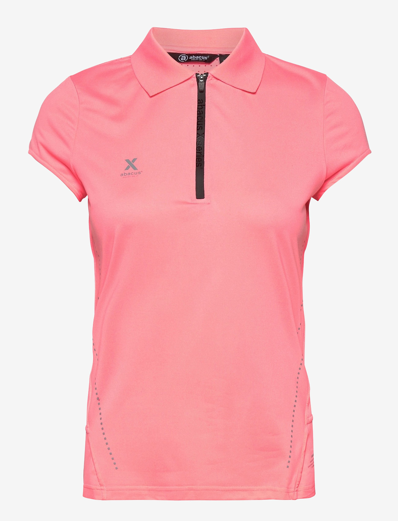 Abacus - Lds Scratch 37.5 cupsleeve - polo's - coral pink - 0