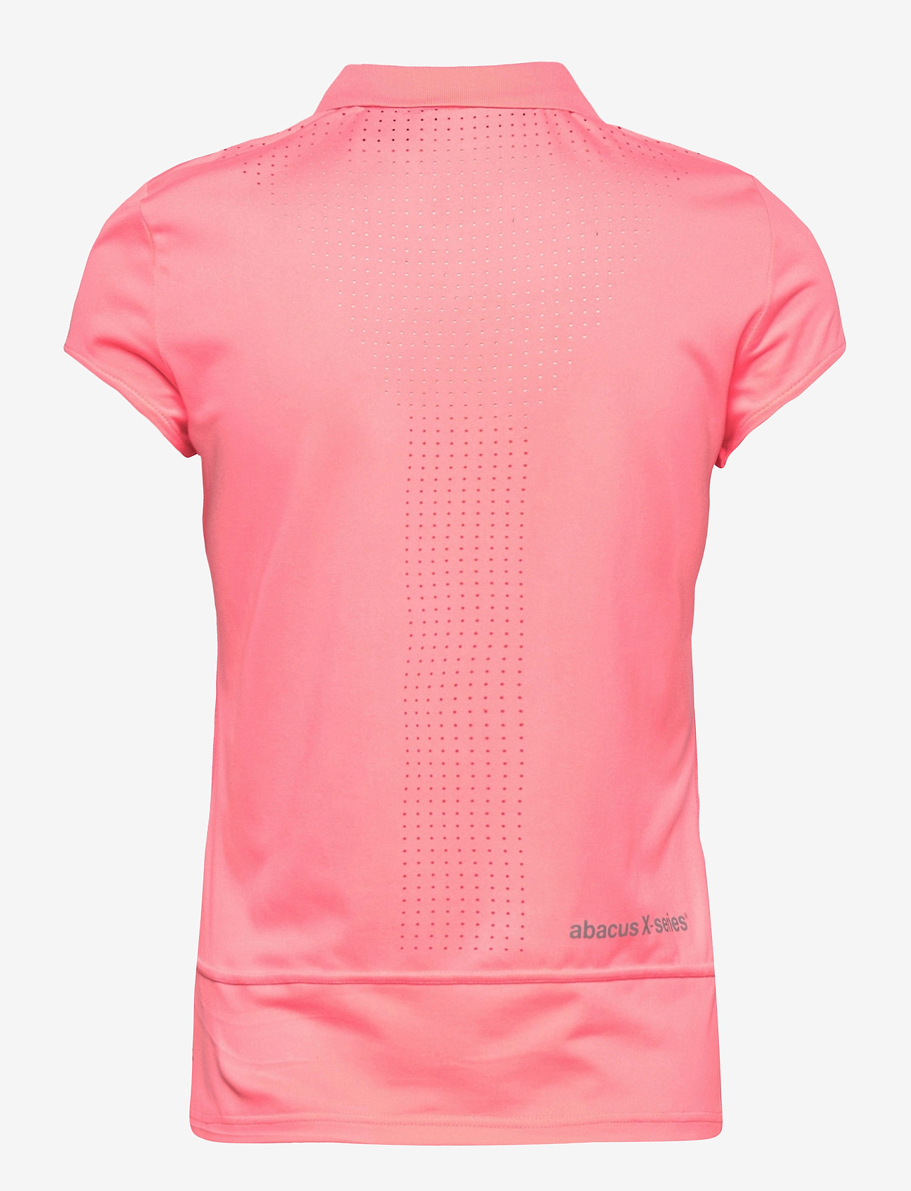 Abacus - Lds Scratch 37.5 cupsleeve - polo's - coral pink - 1