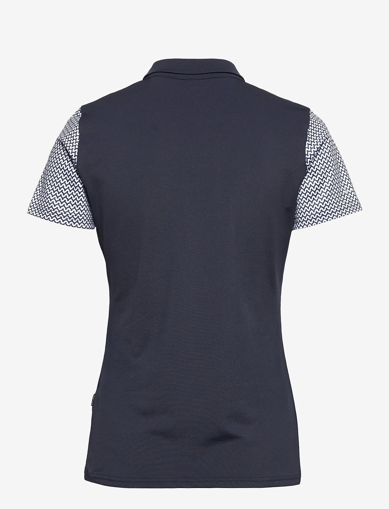 Abacus - Lds Anne polo - polos - navy/white - 1