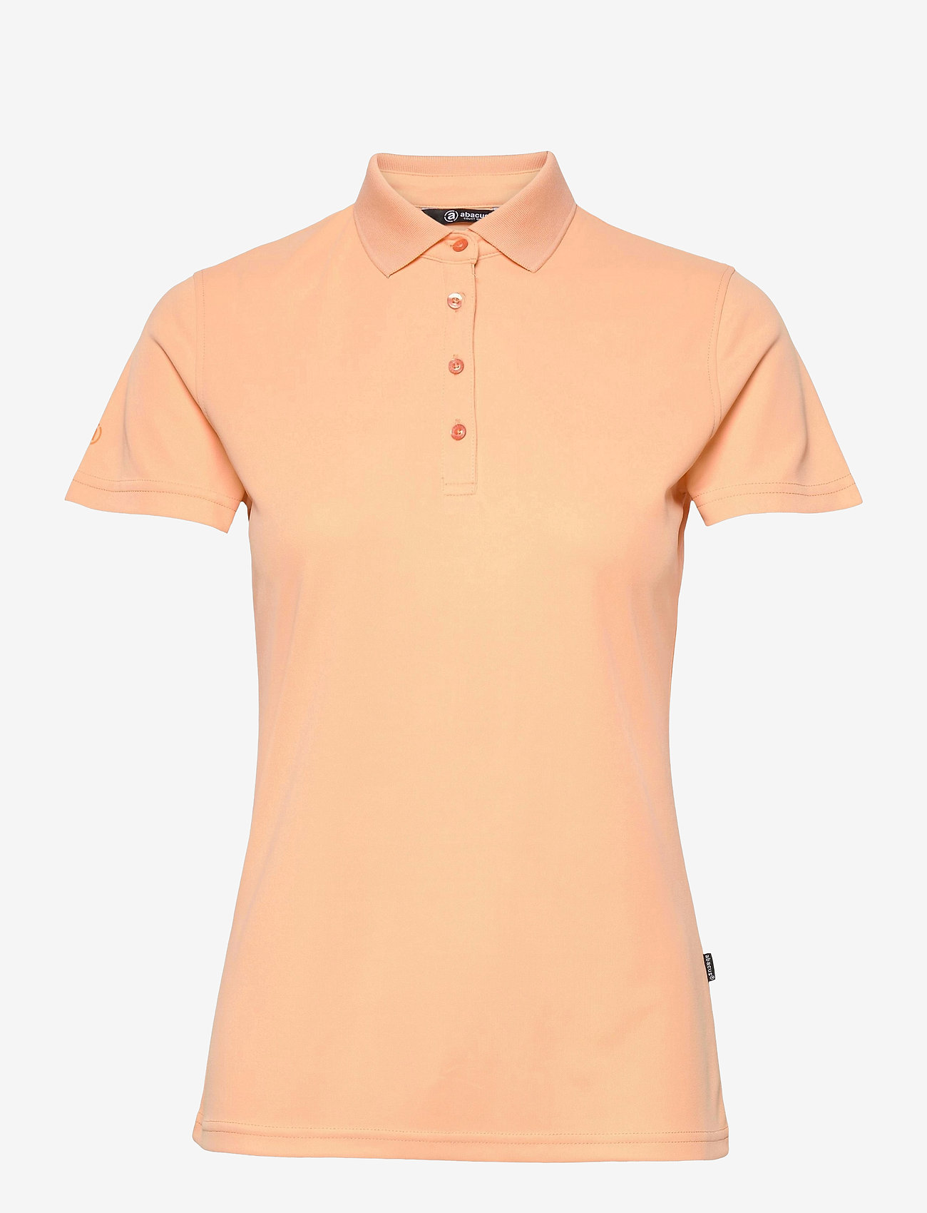 Abacus - Lds Cray drycool polo - polo's - apricot - 0