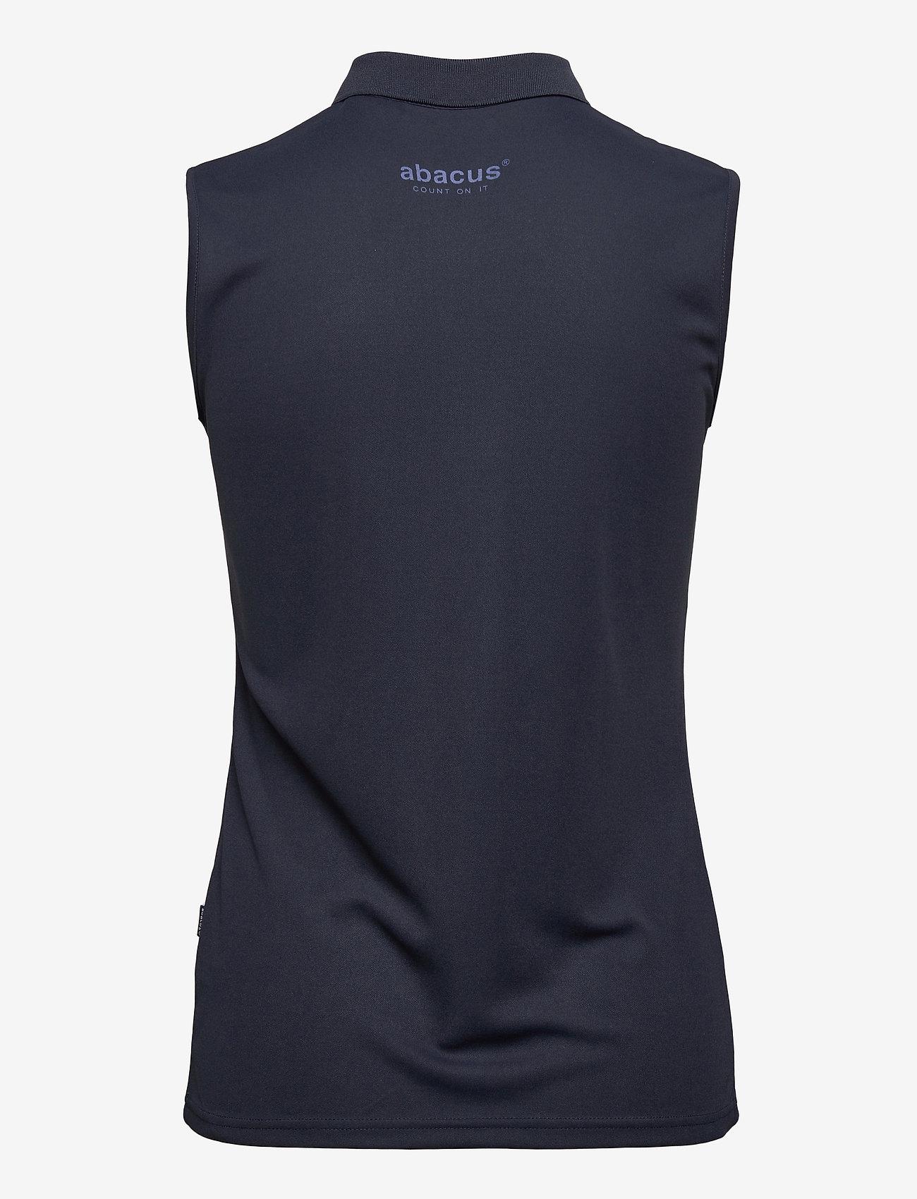 Abacus - Lds Cray sleeveless - polo's - navy - 1