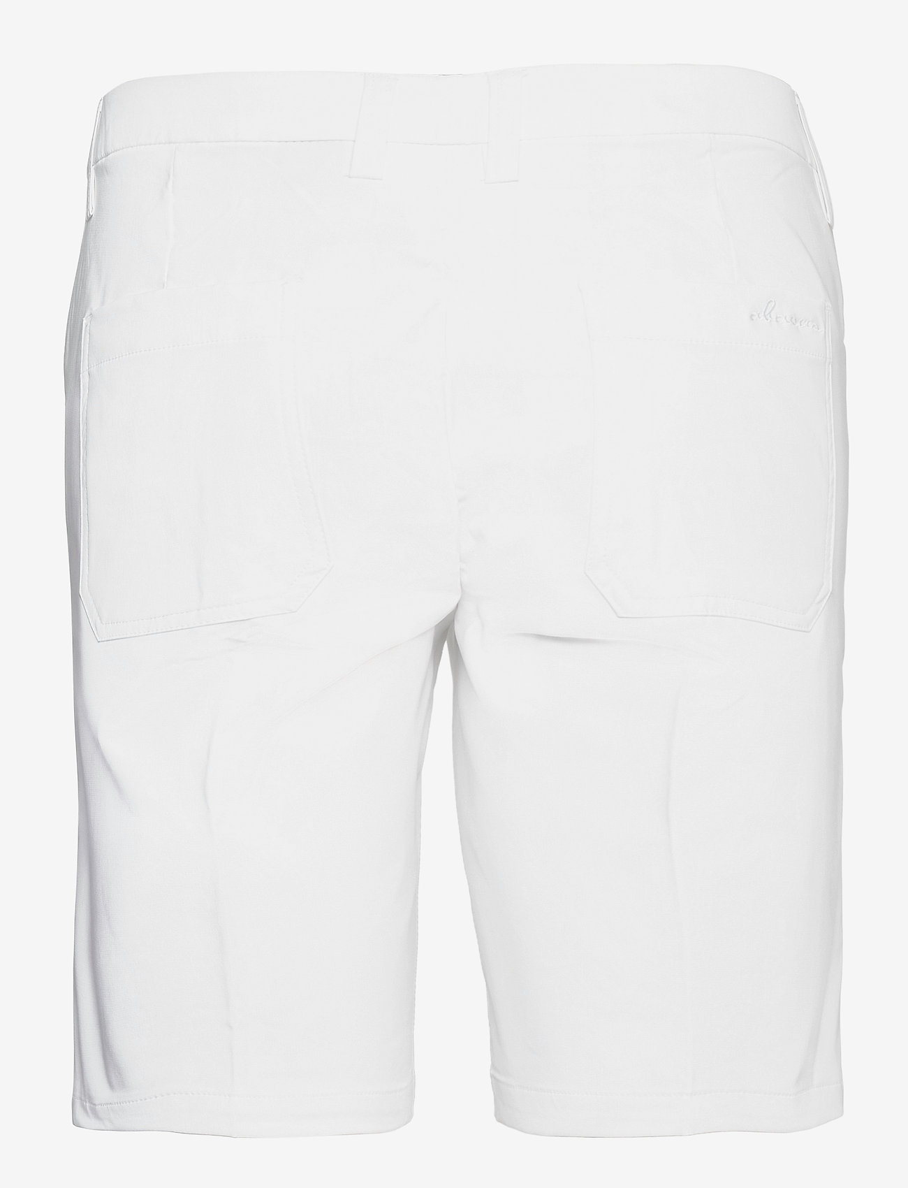 Abacus - Lds Cleek stretch shorts 46cm - golfshorts - white - 1