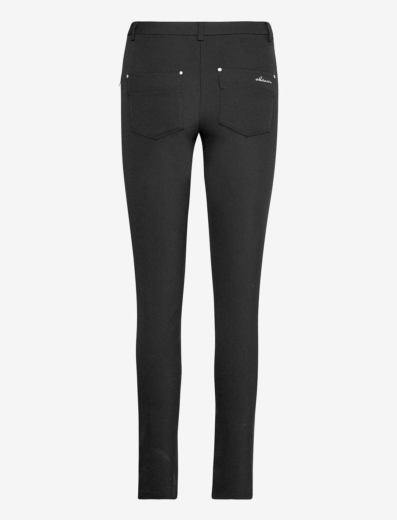 Abacus - Lds Grace trousers 103cm - golfbroeken - black - 1