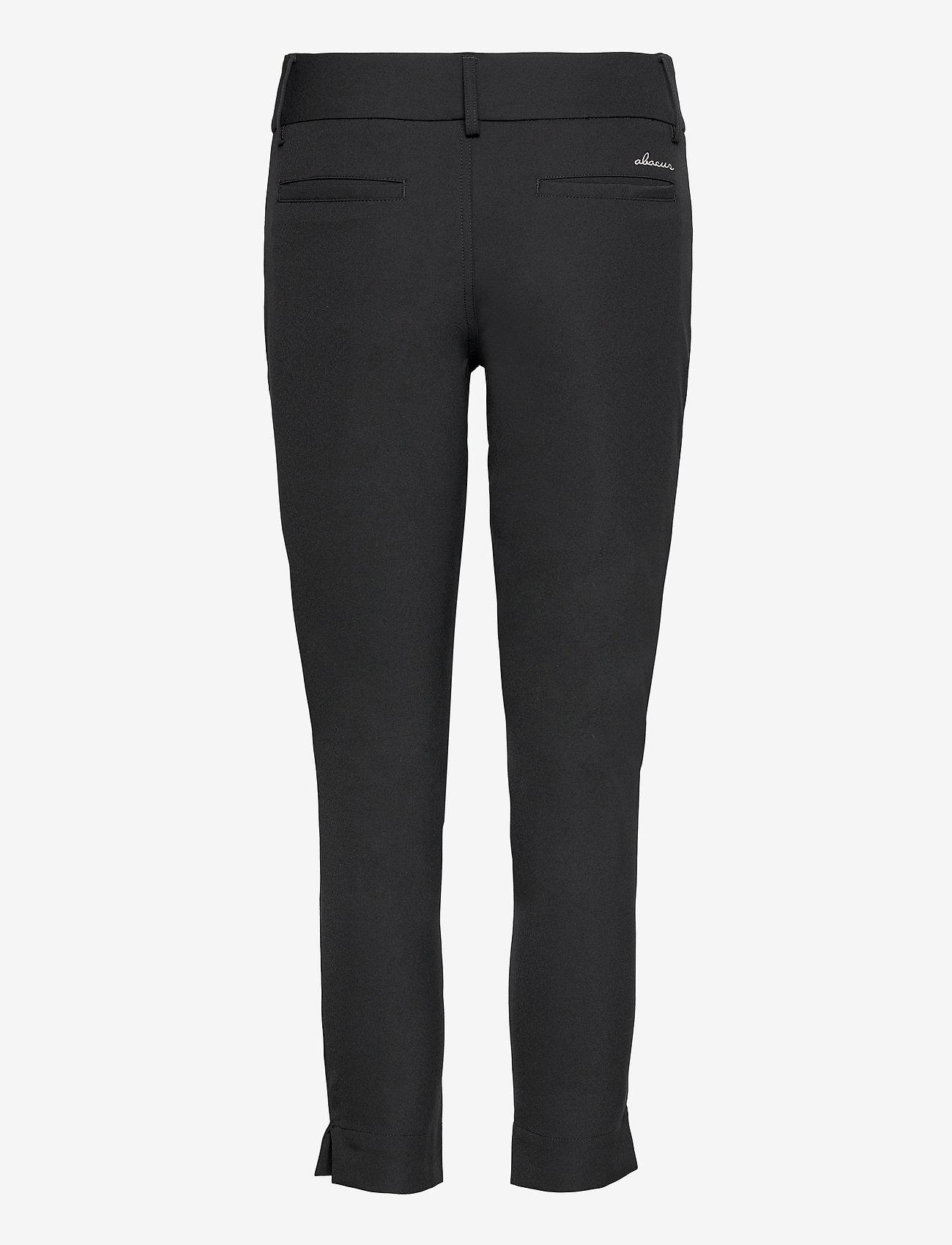 Abacus - Lds Grace 7/8 trousers 88cm - golfbroeken - black - 1