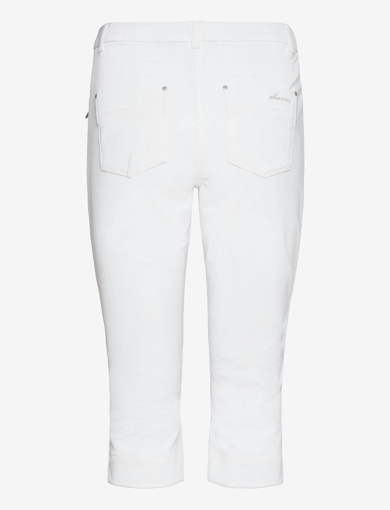Abacus - Lds Grace capri 70 cm - golfbroeken - white - 1