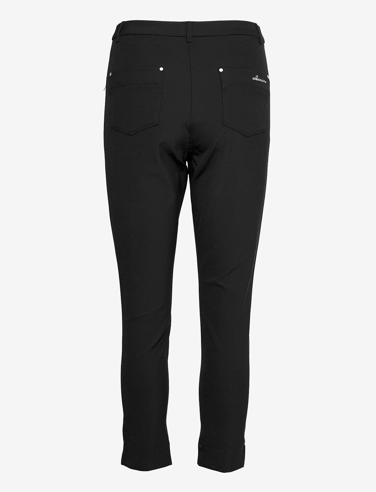Abacus - Lds Grace high waist 7/8 trousers 92cm - golfbroeken - black - 1
