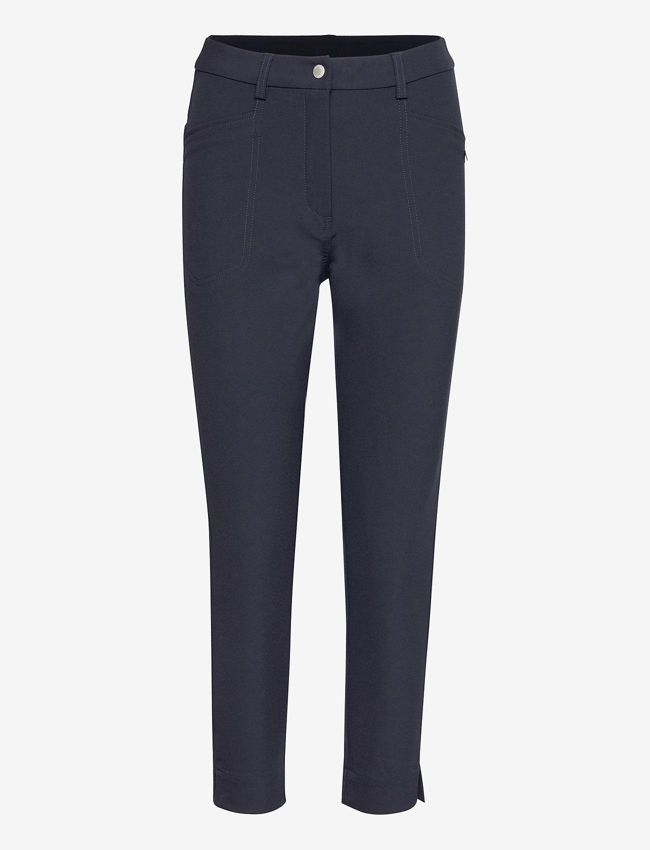 Abacus - Lds Grace high waist 7/8 trousers 92cm - golfbroeken - navy - 0