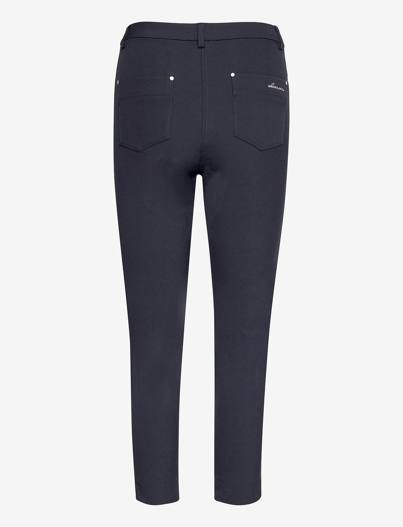 Abacus - Lds Grace high waist 7/8 trousers 92cm - golfbroeken - navy - 1