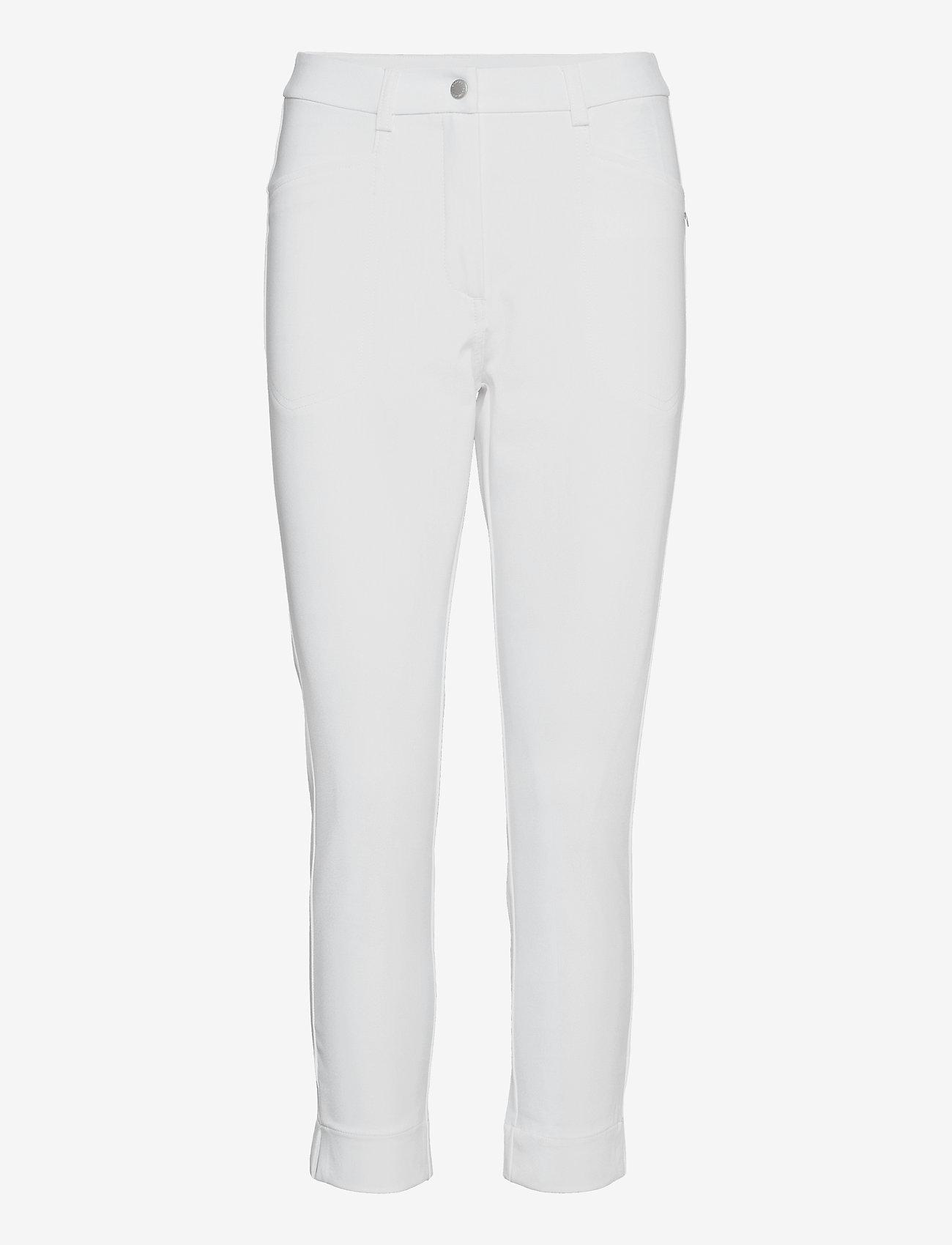 Abacus - Lds Grace high waist 7/8 trousers 92cm - golfbroeken - white - 0