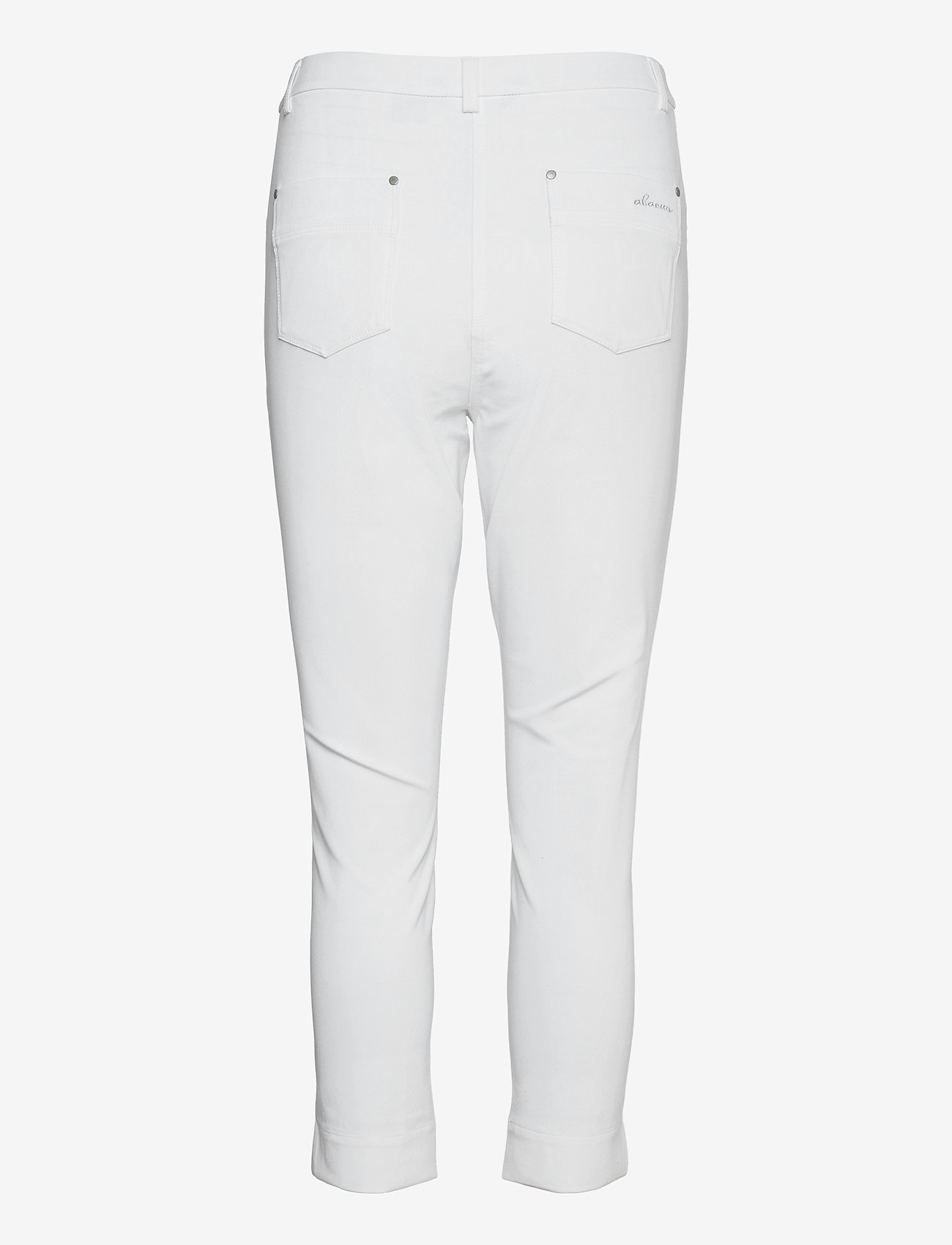 Abacus - Lds Grace high waist 7/8 trousers 92cm - golfbroeken - white - 1