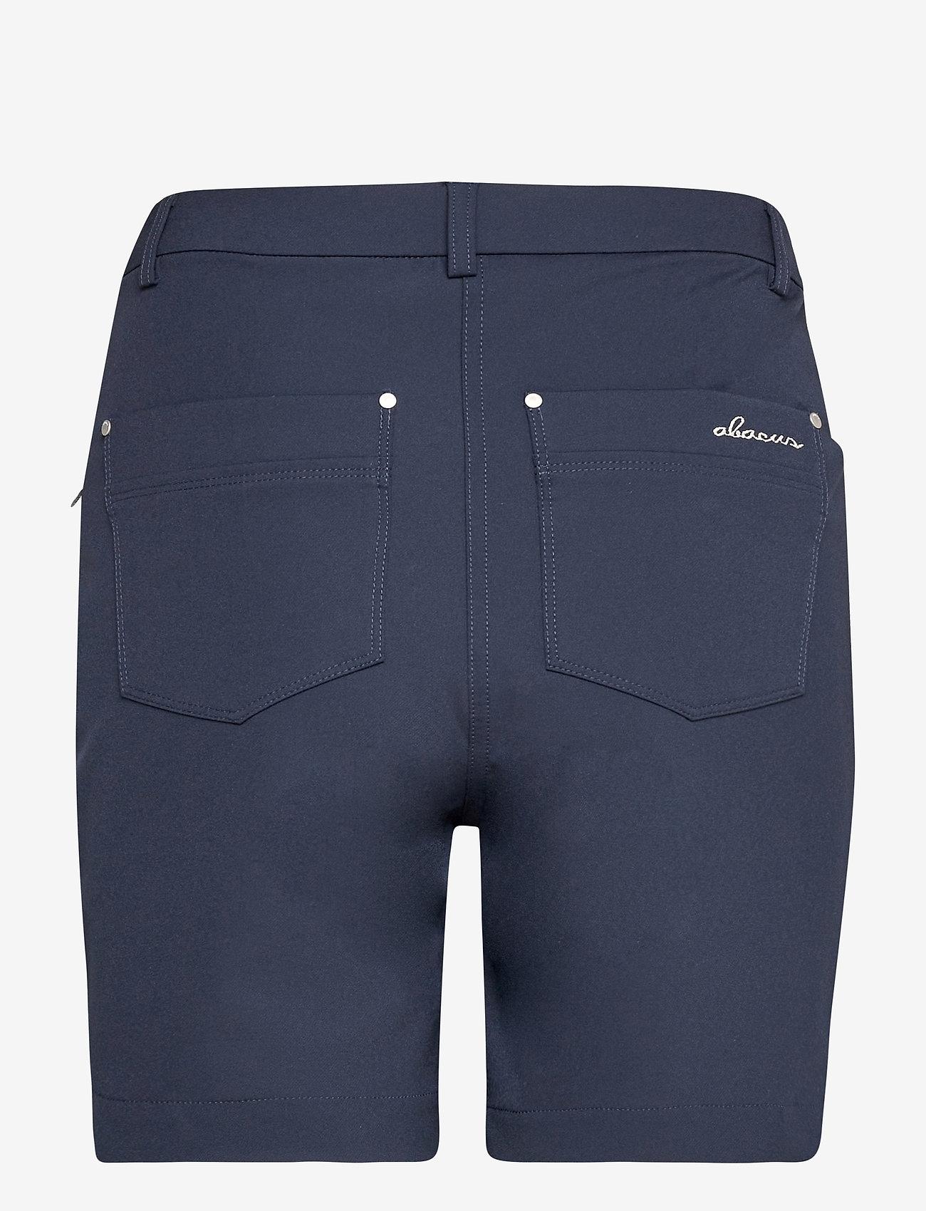Abacus - Lds Grace high waist shorts 45cm - golfbroeken - navy - 1