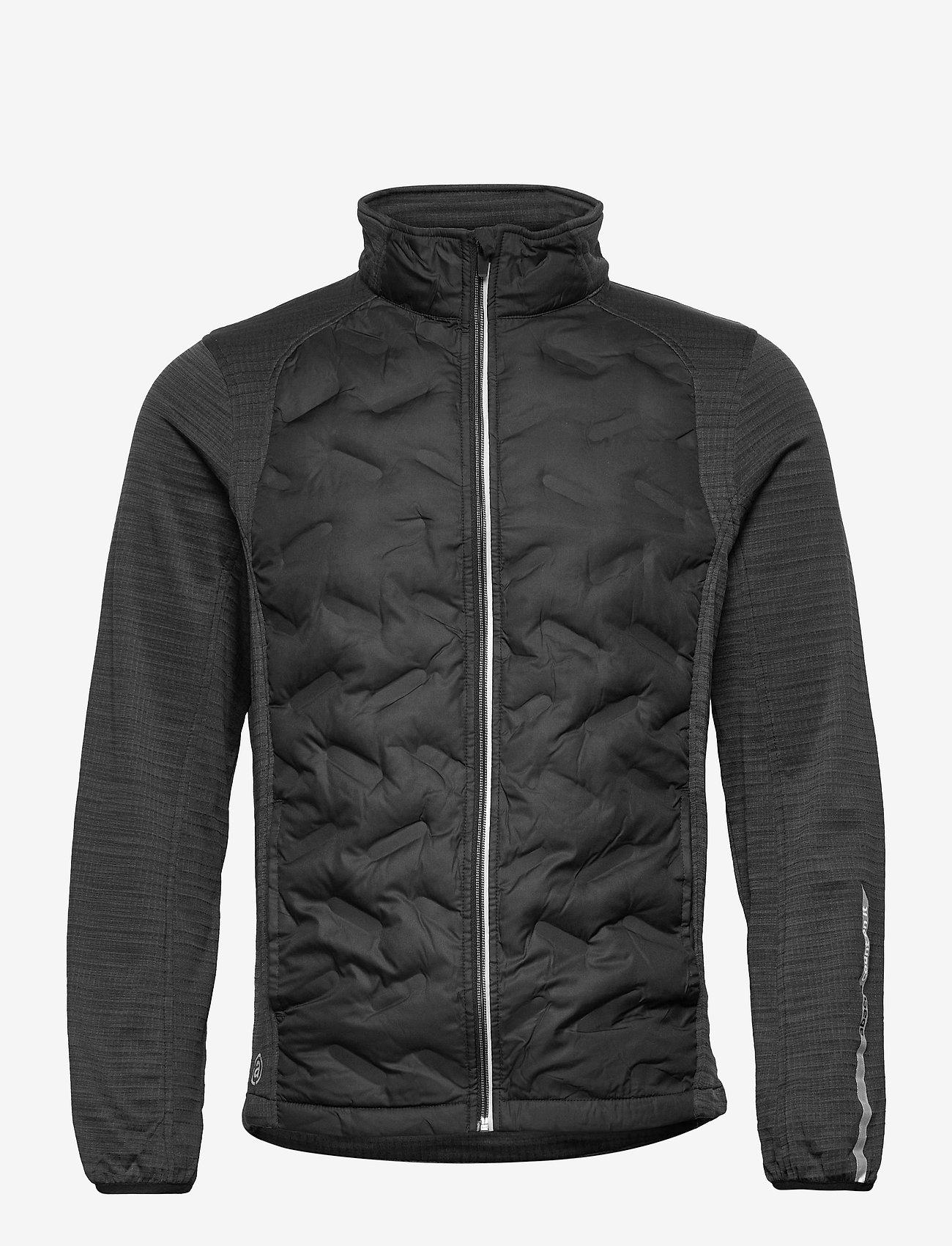 Abacus - Mens Dunes hybrid  jacket - golf jackets - black - 0