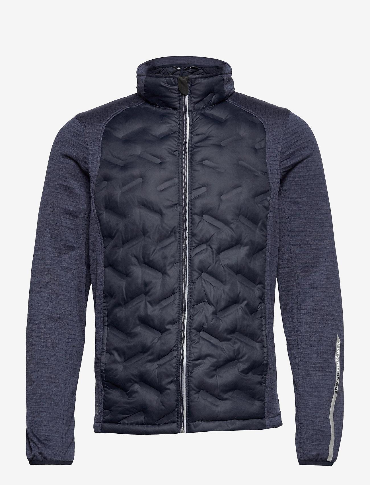 Abacus - Mens Dunes hybrid  jacket - golf jassen - navy - 0