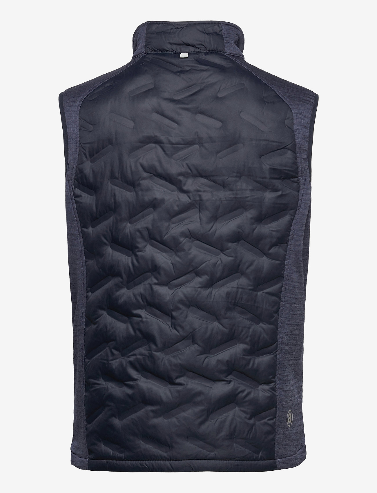 Abacus - Mens Dunes hybrid vest - golf jackets - navy - 1