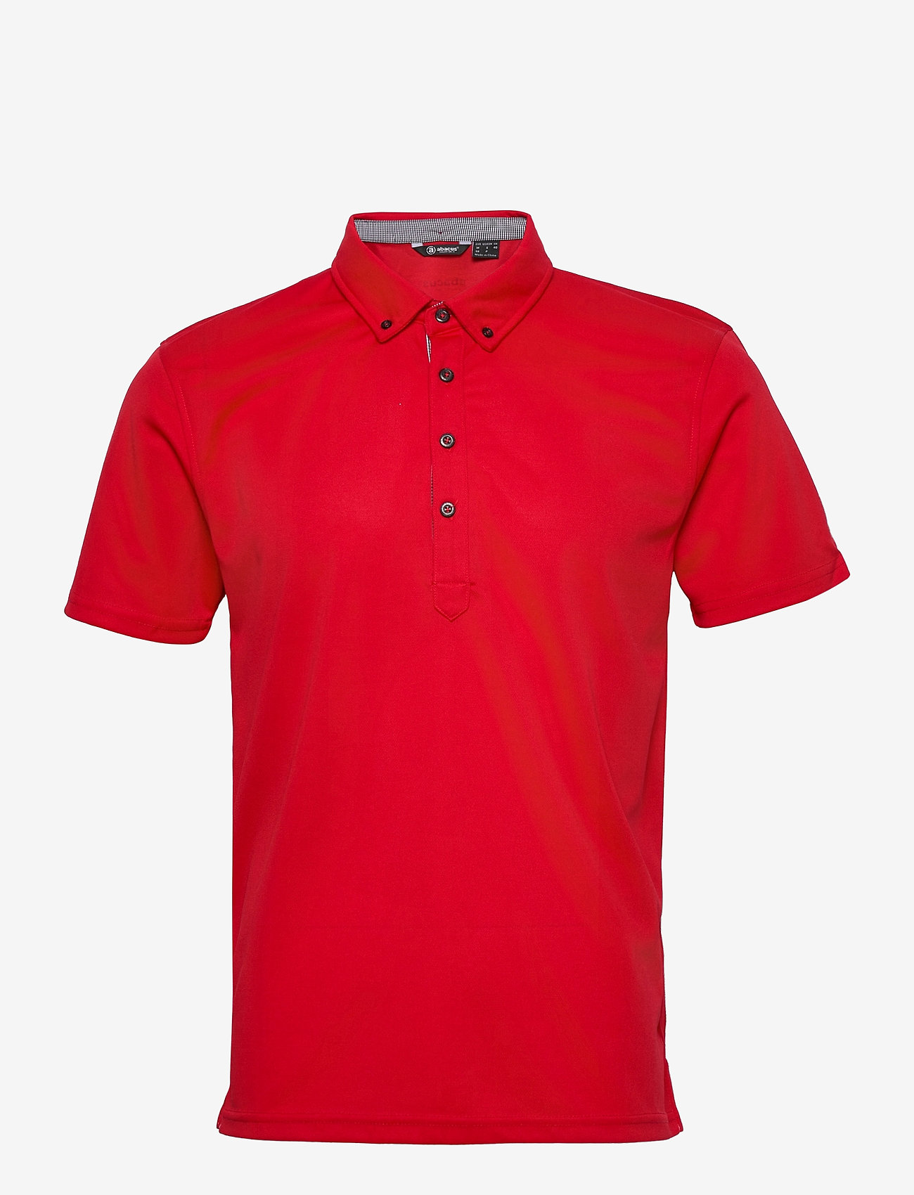 Abacus - Mens Oliver polo - polo's - red - 0