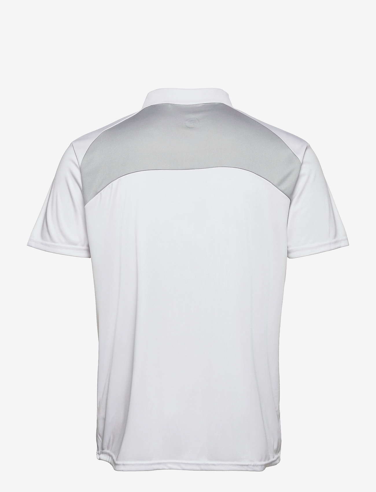 Abacus - Mens Pennard polo - t-shirts - white/lt.grey - 1