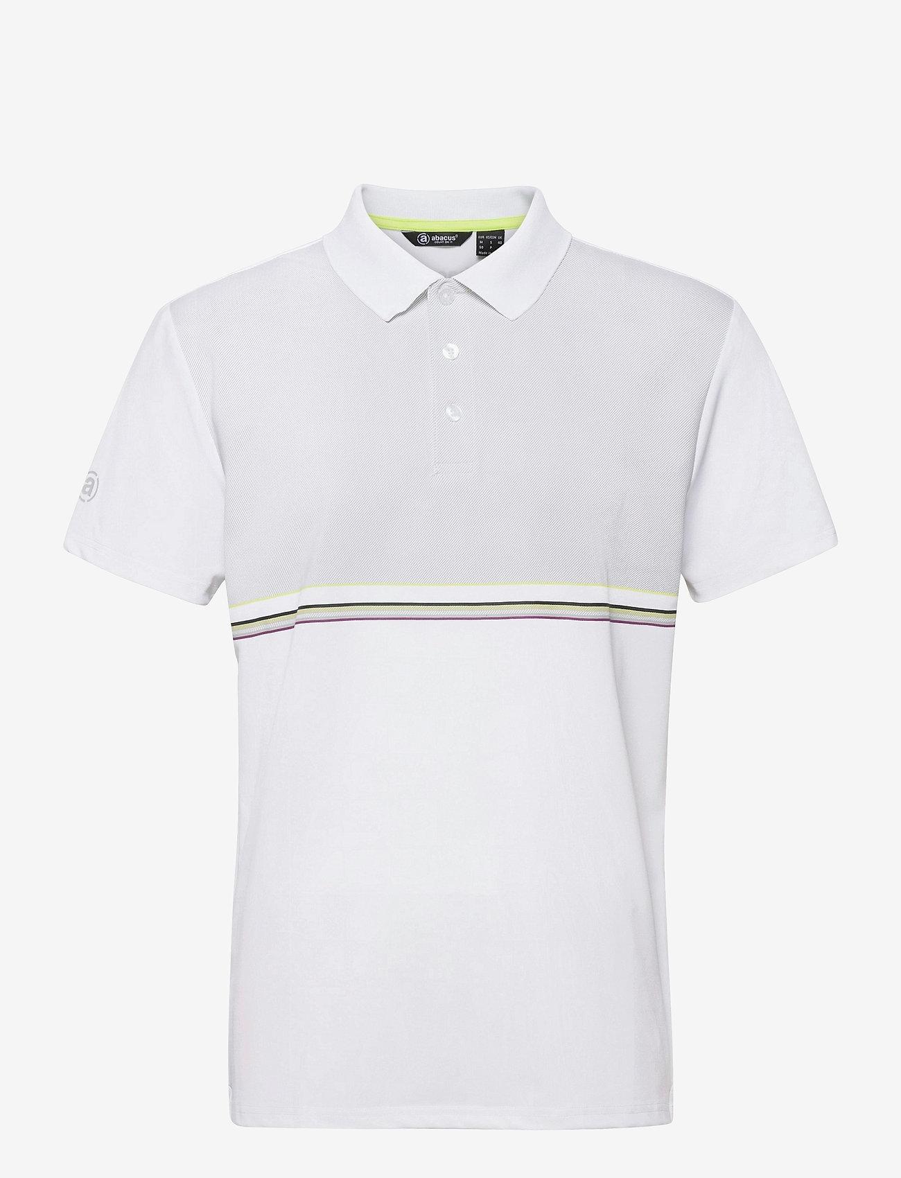 Abacus - Burnham polo - polo's - white - 0