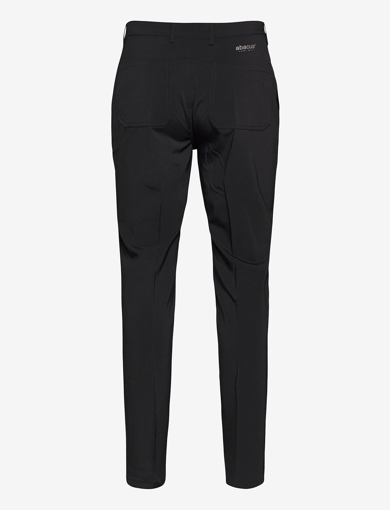 Abacus - Mens Cleek stretch trousers - golf-housut - black - 1