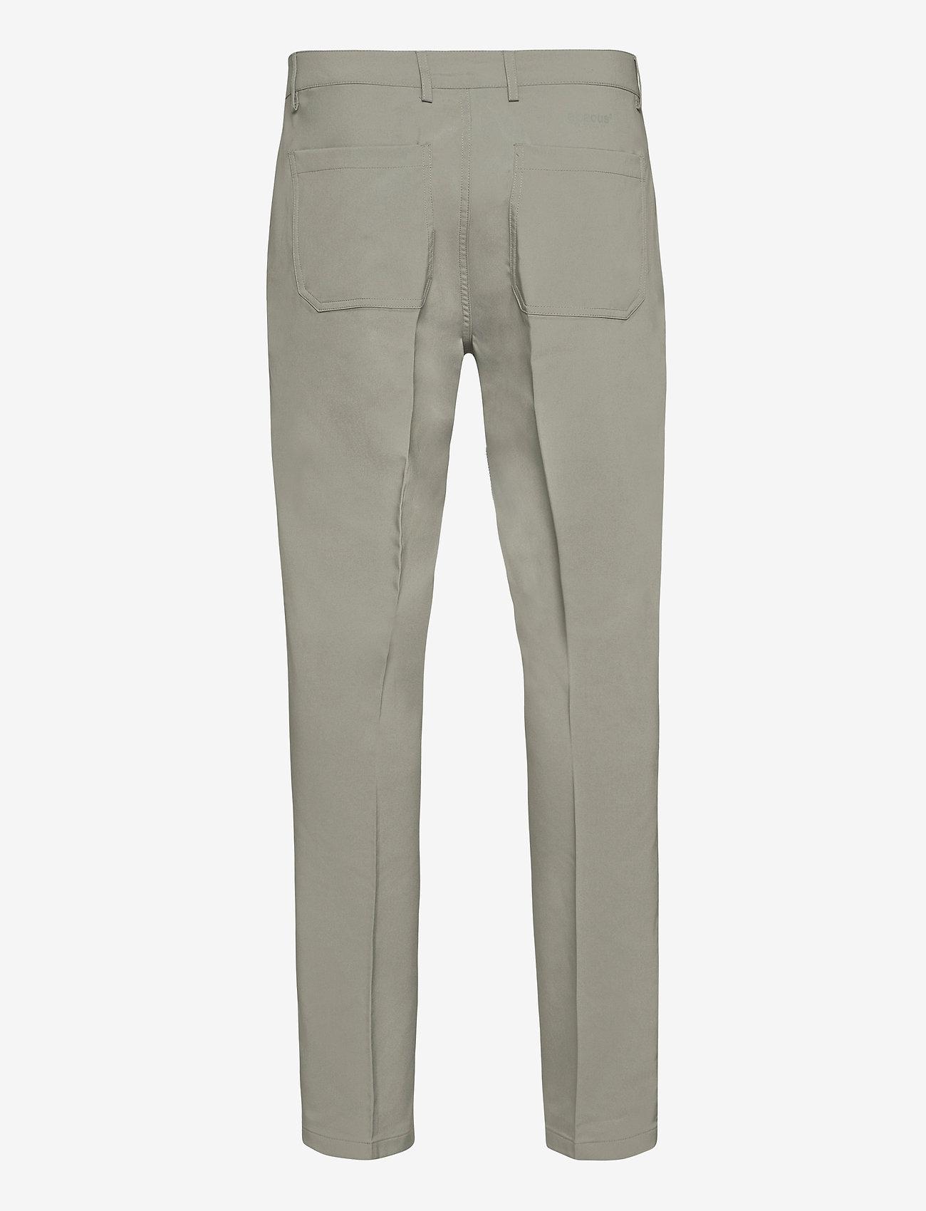 Abacus - Mens Cleek stretch trousers - golf-housut - grey - 1