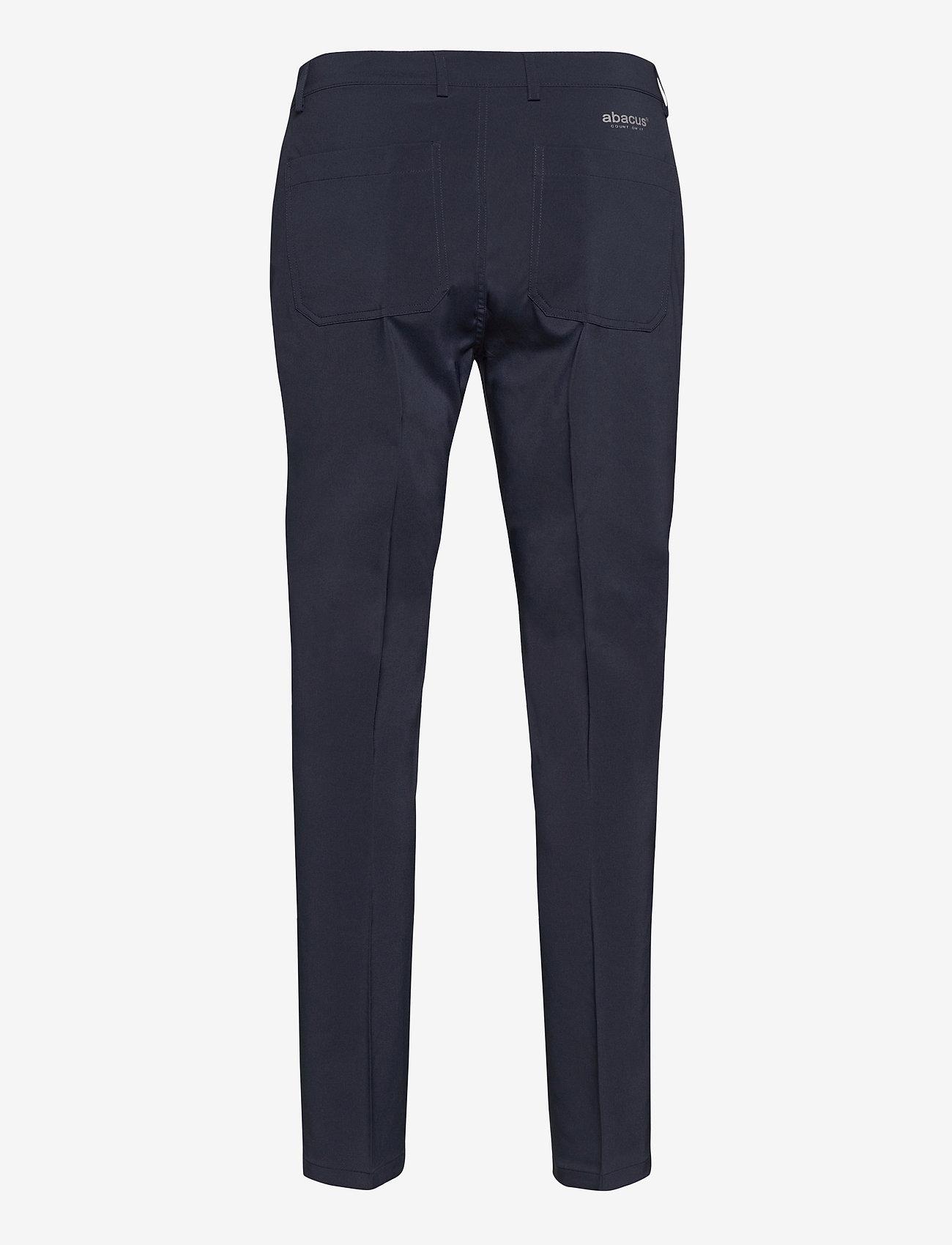 Abacus - Mens Cleek stretch trousers - golfbroeken - navy - 1