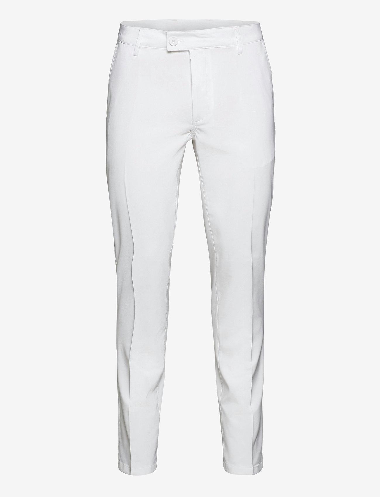 Abacus - Mens Cleek stretch trousers - golf-housut - white - 0
