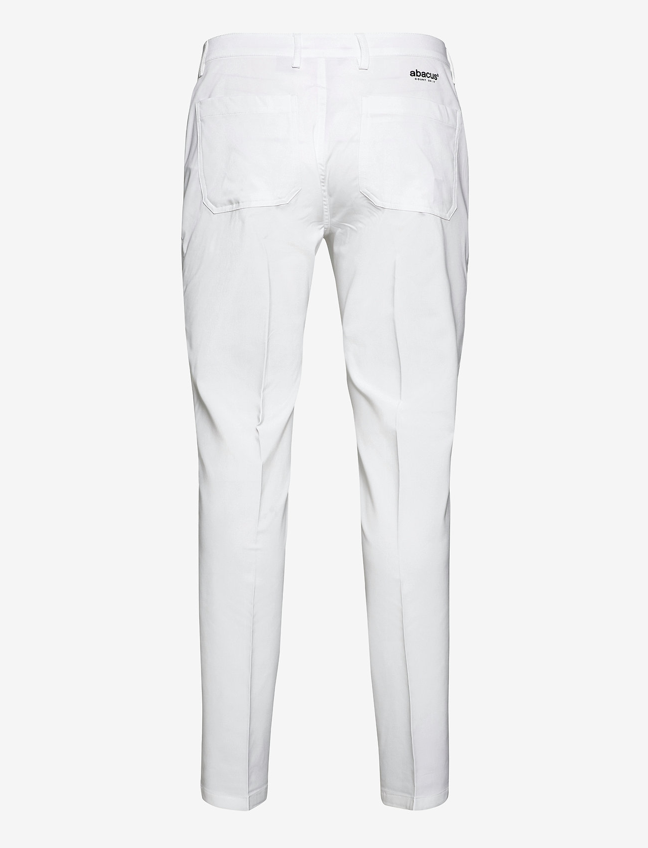 Abacus - Mens Cleek stretch trousers - golf-housut - white - 1