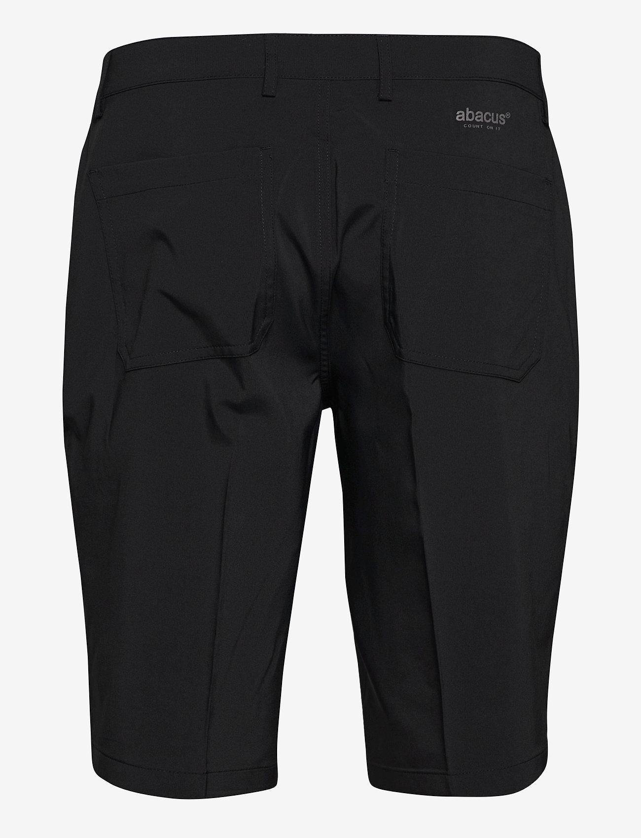 Abacus Mens Cleek stretch shorts - Shorts BLACK - Menn Klær
