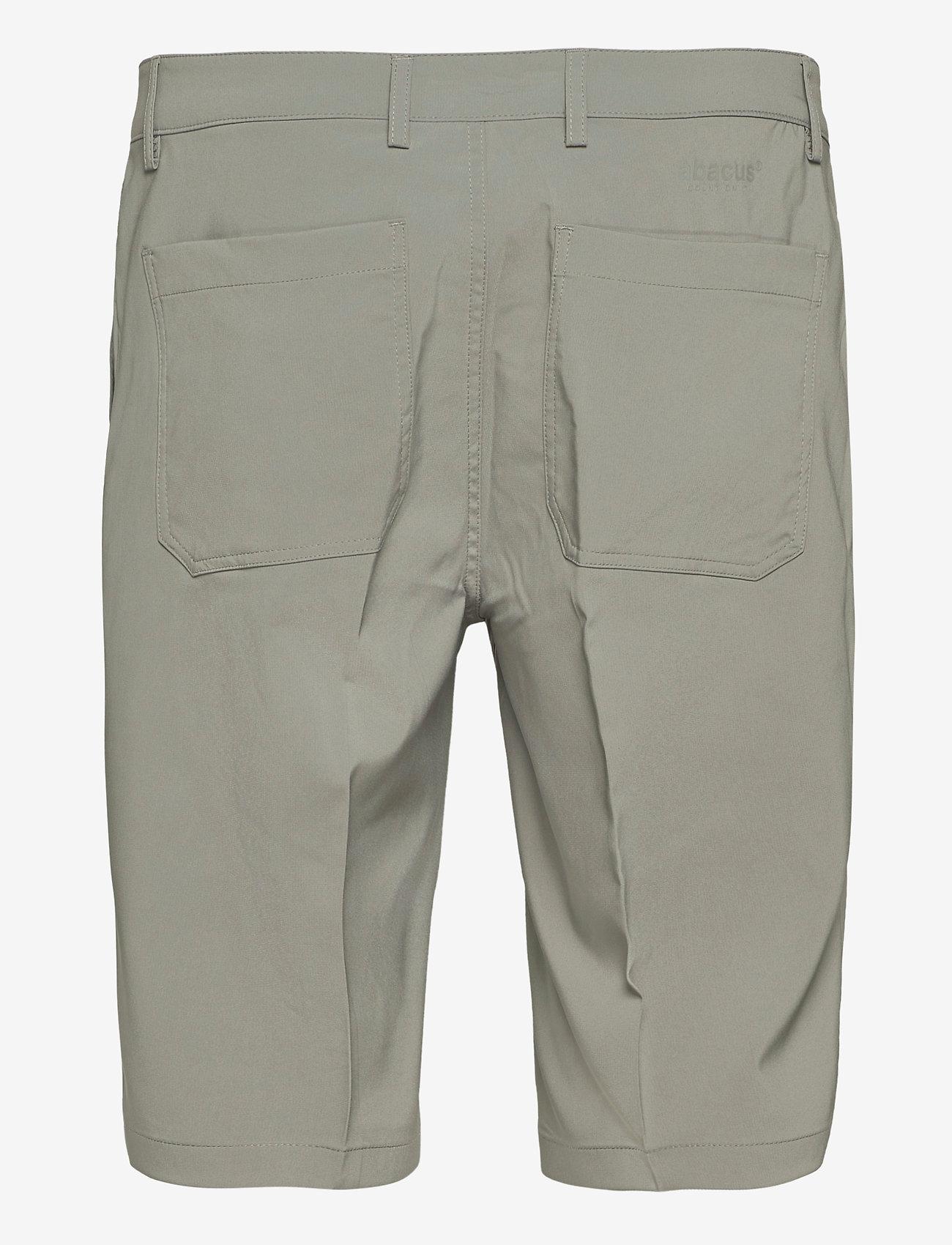 Abacus - Mens Cleek stretch shorts - golfbroeken - grey - 1