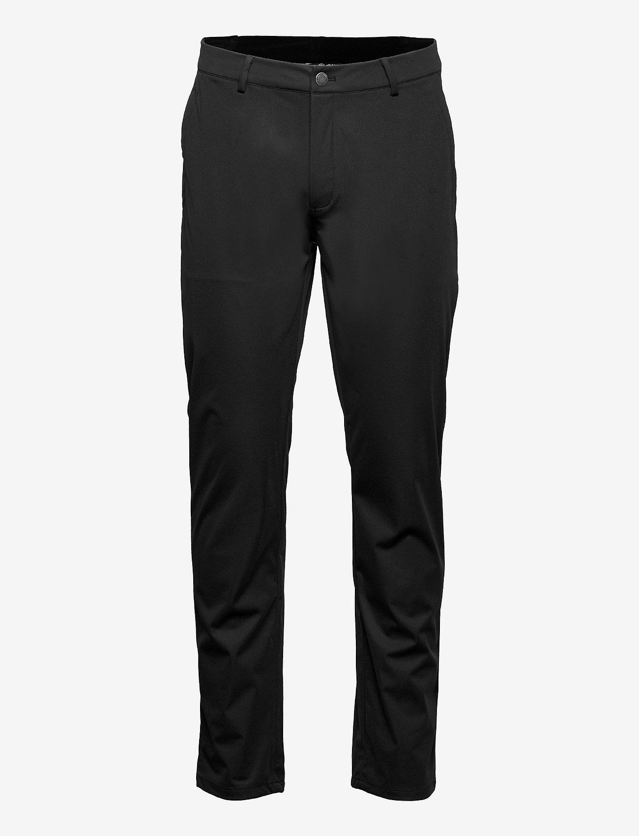Abacus - Mens Tralee trousers - pantalon de golf - black - 0