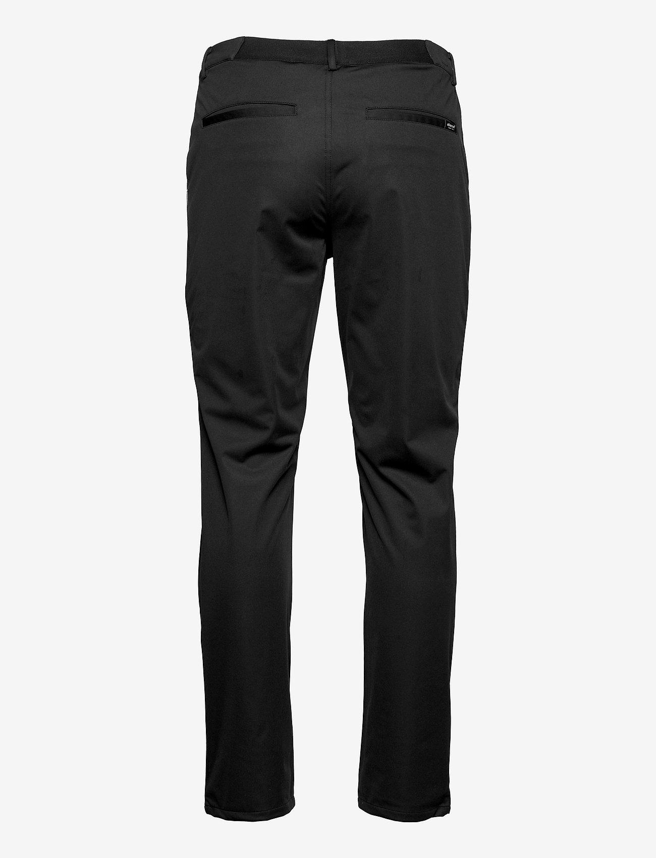 Abacus - Mens Tralee trousers - pantalon de golf - black - 1