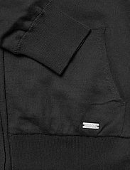 Abacus - Lds Dubson windstop cardigan - cardigans - black - 3