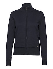 Lds Dubson windstop cardigan - NAVY